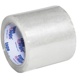 Tape Logic Clear 1.8 Mil Acrylic Tape 4 inch x 72 yard Roll (6 Pack)