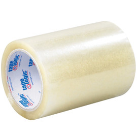 Tape Logic Clear 2 Mil Acrylic Tape 6 inch x 72 yard (12 Roll/Pack)