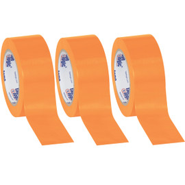 Tape Logic Orange Solid Vinyl Safety Tape 2 inch x 36 yard Roll (3 Pack)