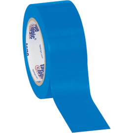 Tape Logic Blue Solid Vinyl Safety Tape 2 inch x 36 yard Roll (24 Roll/Pack)