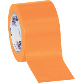 Tape Logic Orange Solid Vinyl Safety Tape 3 inch x 36 yard Roll (16 Roll/Pack)