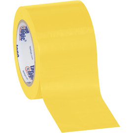 Tape Logic Yellow Solid Vinyl Safety Tape 3 inch x 36 yard Roll (16 Roll/Pack)