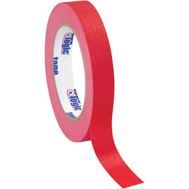Tape Logic Masking Tape Red 3/4 inch x 60 yard Roll (12 Roll/Pack)