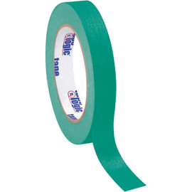 Tape Logic Masking Tape Dark Green 3/4 inch x 60 yard Roll (48 Roll/Pack)