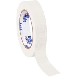 Tape Logic Masking Tape White 1 inch x 60 yard Roll (12 Roll/Pack)