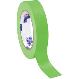 Tape Logic Masking Tape Light Green 1 inch x 60 yard Roll (36 Roll/Pack)