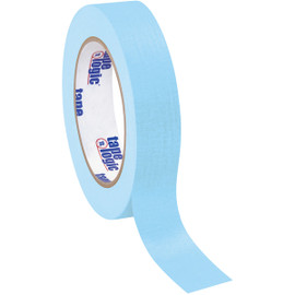 Tape Logic Masking Tape Light Blue 1 inch x 60 yard Roll (36 Roll/Pack)