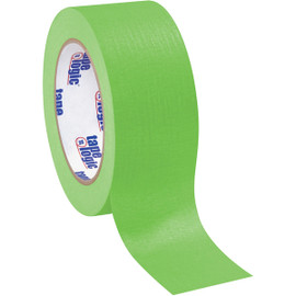 Tape Logic Masking Tape Light Green 2 inch x 60 yard Roll (12 Roll/Pack)