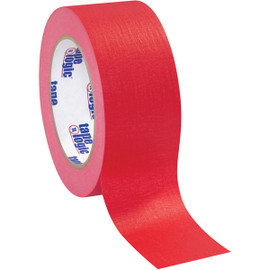 Tape Logic Masking Tape Red 2 inch x 60 yard Roll (12 Roll/Pack)