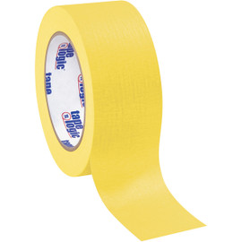 Tape Logic Masking Tape Yellow 2 inch x 60 yard Roll (12 Roll/Pack)
