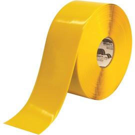Mighty Line&#8482 Deluxe Safety Tape Yellow 4 inch x 100 ft
