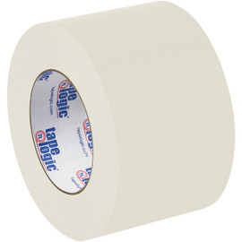 Tape Logic #5400 Natural White Flatback Tape 3 inch x 60 yard Roll (6 Pack)