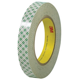 3M 410M Double Sided Masking Tape 3/4 inch x 36 yard Roll (48 Roll/Pack)