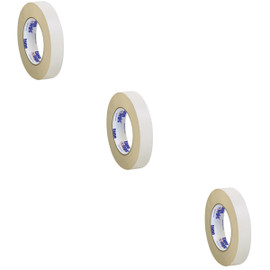 Tape Logic Double Sided Masking Tape 1 inch x 36 yard Roll (3 Pack)