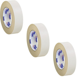 Tape Logic Double Sided Masking Tape 1 1/2 inch x 36 yard Roll (3 Pack)