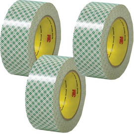 3M 410M Double Sided Masking Tape 2 inch x 36 yard Roll (3 Pack)