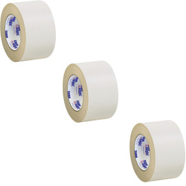 Tape Logic Double Sided Masking Tape 3 inch x 36 yard Roll (3 Pack)