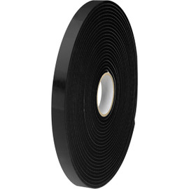 Tape Logic Double Sided Foam Tape 1 inch x 36 yard (1/16 inch Thick Black) (12 Roll/Pack)