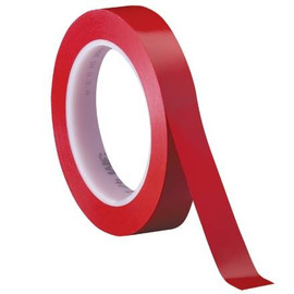 3M Vinyl Tape 471 Red 3/4 inch x 36 yard Roll (3 Pack)