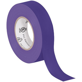 General purpose Electrical Tape 3/4 inch x 20 yard Purple (10 Pack)