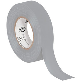 General purpose Electrical Tape 3/4 inch x 20 yard Gray (200 Roll/Pack)