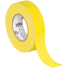 General purpose Electrical Tape 3/4 inch x 20 yard Yellow (200 Roll/Pack)