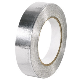 Industrial Aluminum Foil Tape 1 inch x 60 yard Roll (36 Roll/Pack)