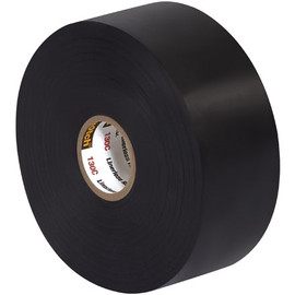 3M 130C Linerless Electrical Tape 1 1/2 inch x 30 ft Roll (3 Pack)