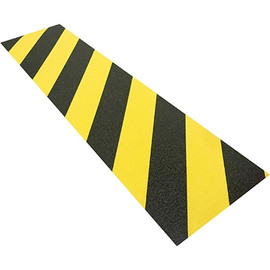 Tape Logic Anti-Slip Treads Black/Yellow 6 inch x 24 inch (25 Treads)