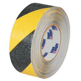 Tape Logic Heavy-Duty Anti-Slip Tape Black/Yellow 2 inch x 60 ft Roll