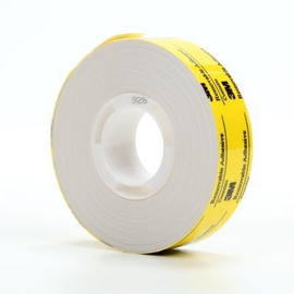 Adhesive Transfer Tape Repositionable 3M 928 1/2 inch x 36 yard Roll (72 Roll/Pack)