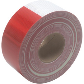 3M 983 Red/White Reflective Tape 3 inch x 150 ft Roll