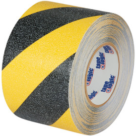 Tape Logic Heavy-Duty Anti-Slip Tape Black/Yellow 4 inch x 60 ft Roll
