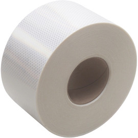 White 3M 983 Reflective Tape 4 inch x 150 ft Roll