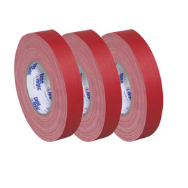 Tape Logic 11 Mil Gaffers Tape Red 1 inch x 60 yard Roll (3 Pack)