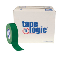 Tape Logic Green Duct Tape 2 inch x 60 yard Roll (24 Roll/Pack)