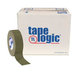 Tape Logic Olive Green Duct Tape 2 inch x 60 yard Roll (24 Roll/Pack)