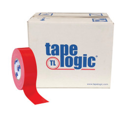 Tape Logic Red Duct Tape 2 inch x 60 yard Roll (24 Roll/Pack)