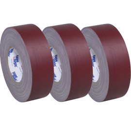 Tape Logic 11 Mil Gaffers Tape Burgundy 2 inch x 60 yard Roll (3 Pack)
