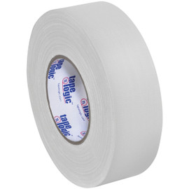 Tape Logic 11 Mil Gaffers Tape White 2 inch x 60 yard Roll (24 Roll/Pack)