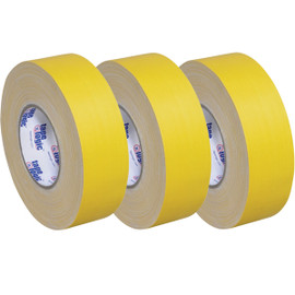 Tape Logic 11 Mil Gaffers Tape Yellow 2 inch x 60 yard Roll (3 Pack)