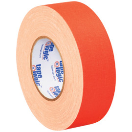 Tape Logic 11 Mil Gaffers Tape Fluorescent Orange 2 inch x 60 yard Roll (24 Roll/Pack)