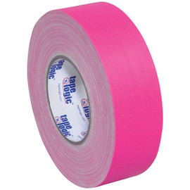 Tape Logic 11 Mil Gaffers Tape Fluorescent Pink 2 inch x 60 yard Roll (24 Roll/Pack)