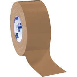 Tape Logic Brown Duct Tape 3 inch x 60 yard Roll (3 Pack)