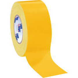 Tape Logic Yellow Duct Tape 3 inch x 60 yard Roll (16 Roll/Pack)