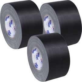 Tape Logic 11 Mil Gaffers Tape Black 3 inch x 60 yard Roll (3 Pack)
