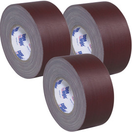 Tape Logic 11 Mil Gaffers Tape Brown 3 inch x 60 yard Roll (3 Pack)