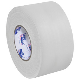 Tape Logic 11 Mil Gaffers Tape White 4 inch x 60 yard Roll (12 Roll/Pack)