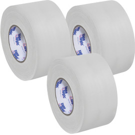 Tape Logic 11 Mil Gaffers Tape White 4 inch x 60 yard Roll (3 Pack)
