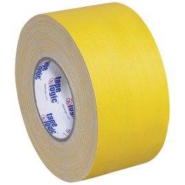Tape Logic 11 Mil Gaffers Tape Yellow 4 inch x 60 yard Roll (12 Roll/Pack)